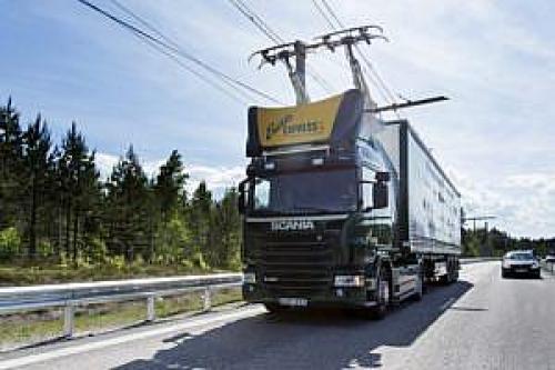 Elektryczny samochód ciężarowy firmy Scania, żródło: scania.com