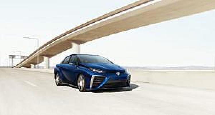 Toyota Mirai, źródło: Toyota