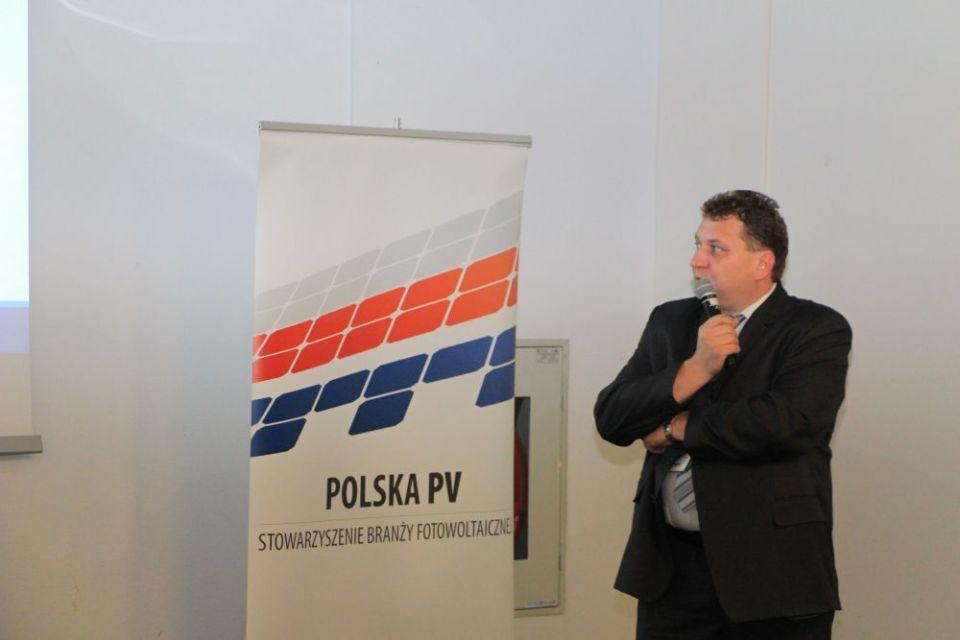 Robert Poloch (Stowarzyszenie na Rzecz Jakości i Bezpieczeństwa Pracy Instalacji PV)