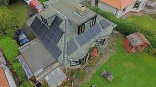 projekt domu energooszczędnego firmy Solar Kingdom Ltd