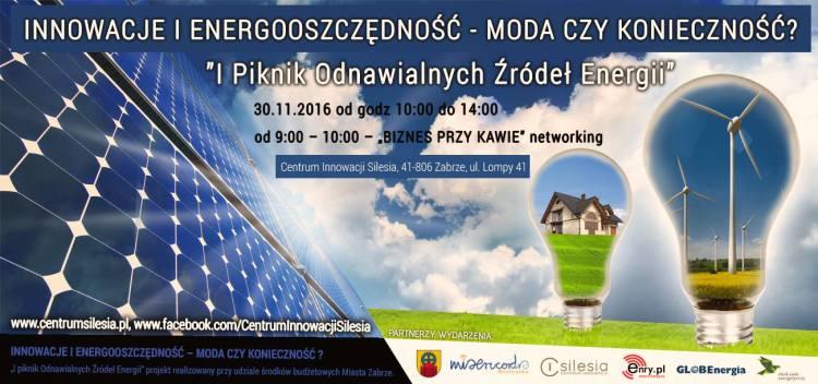 Banner I Piknik Odnawialnych Źródeł Energii