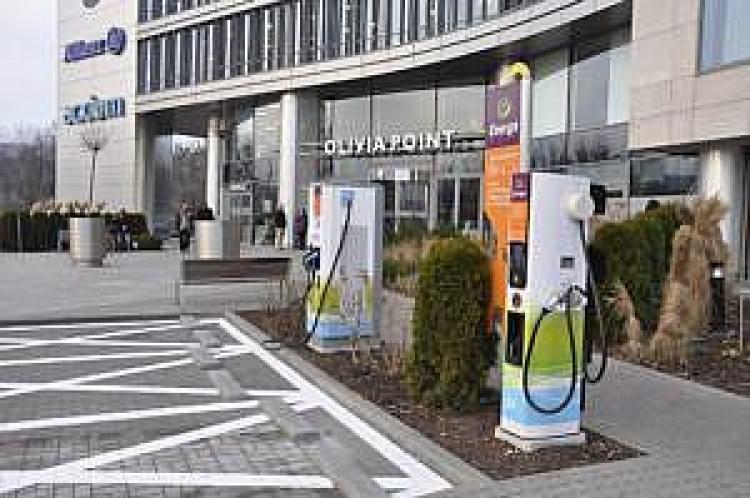 Stacja ładowania samochodów elektrycznych w Trójmieście