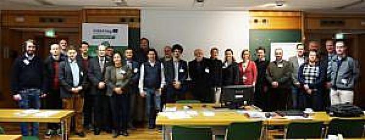 GeoPLASMA-CE mapa płytkiej geotermii, uczestnicy spotkania