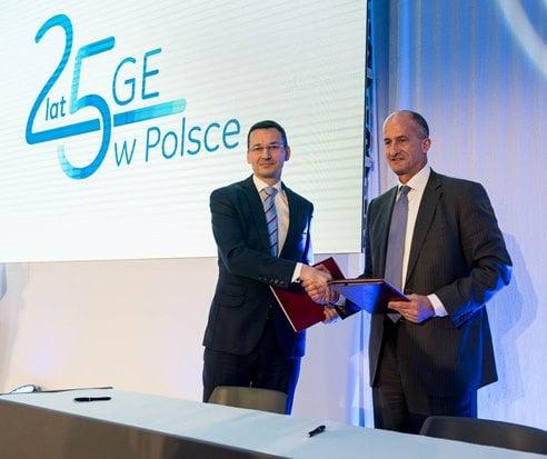 Podpisanie porozumienia o współpracy pomiędzy GE a Ministerstwem Rozwoju