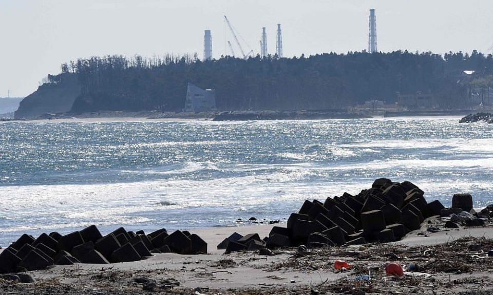 Fukushima dźwigi likwidacja elektrowni