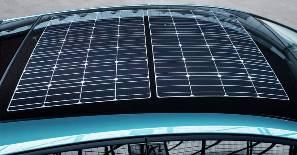Fotowoltaiczny dach nowej Toyoty Prius