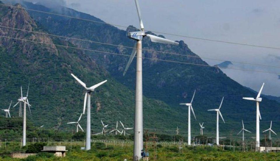 siłownie wiatrowe w Indiach
