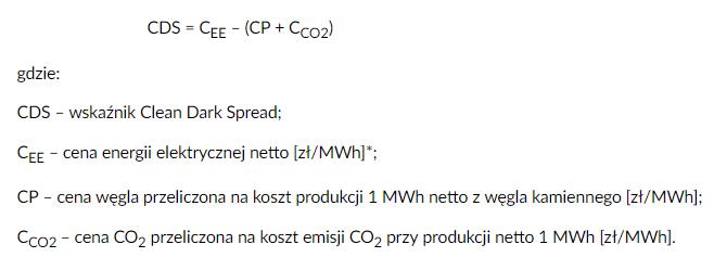 wzór na CDS