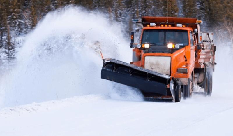 śnieg w Maine