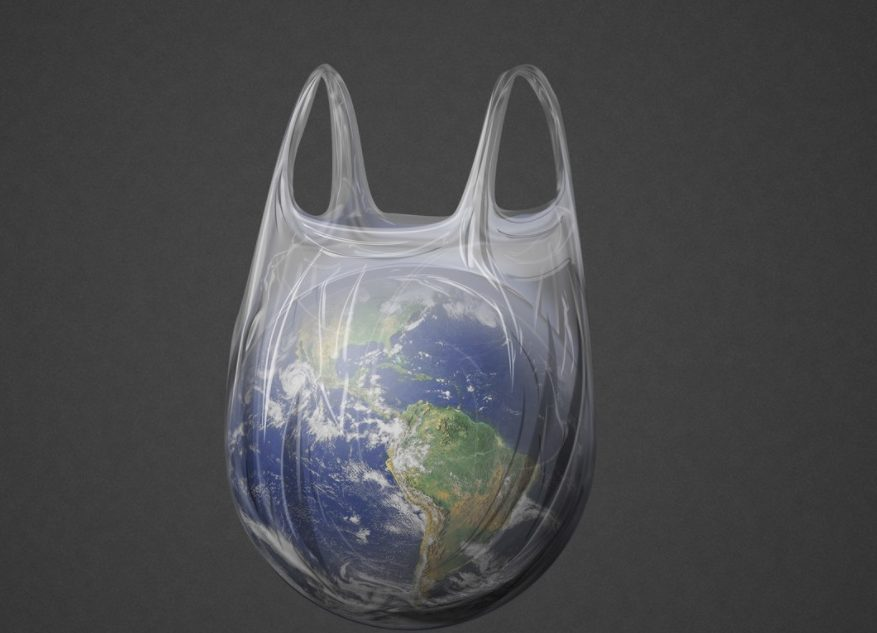 pollution au plastique