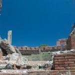 Taormine, théâtre greco-romain