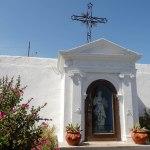 Oratoire fleuri dans village de Stromboli