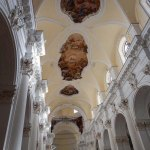Plafond peint d'une église de Noto