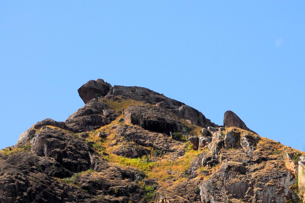 Madagascar - camp catta, trekking ou alpinisme, pourquoi pas le caméléon ?