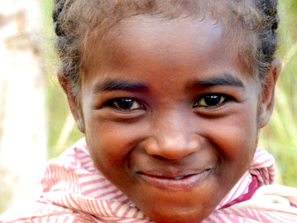 Madagascar - village de Tsaranoro, premiers portraits