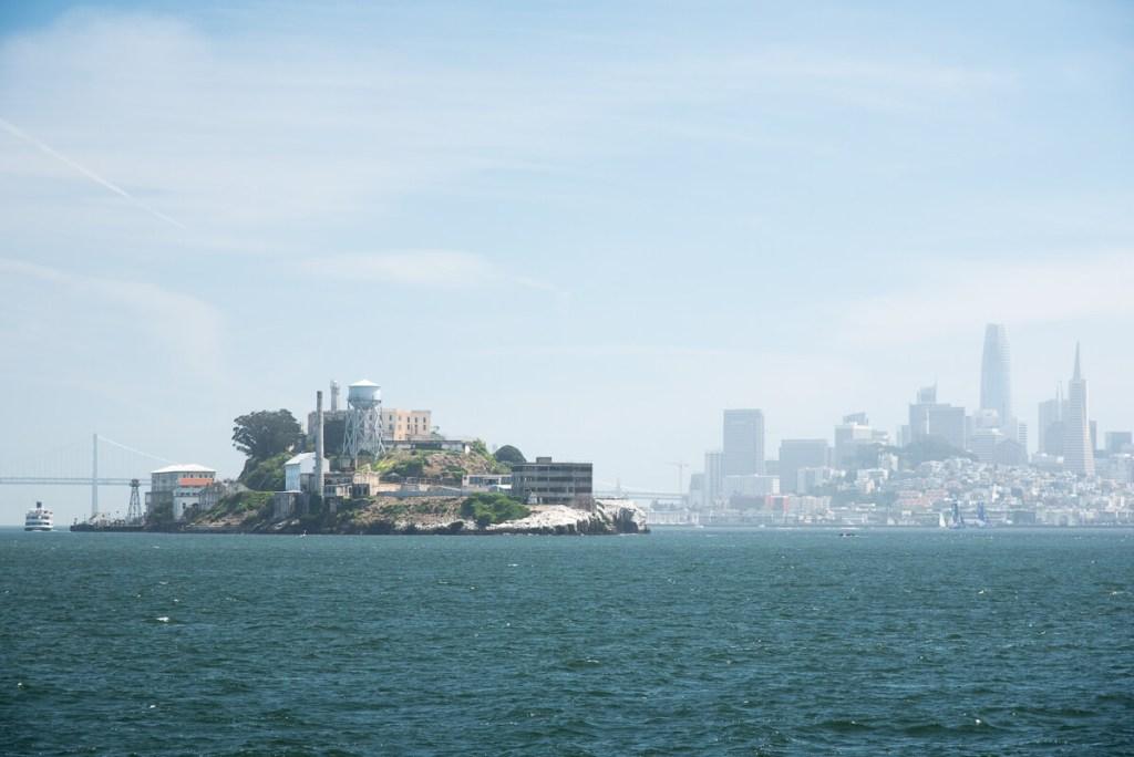La baie de San Francisco et Alcatraz