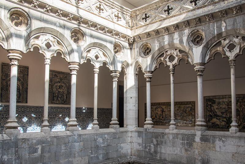 Lisbonne - Musée de azulejos