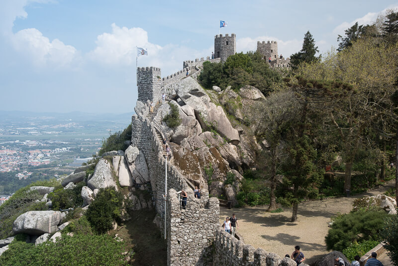 Lisbonne - Sintra, Castelo dos mouros