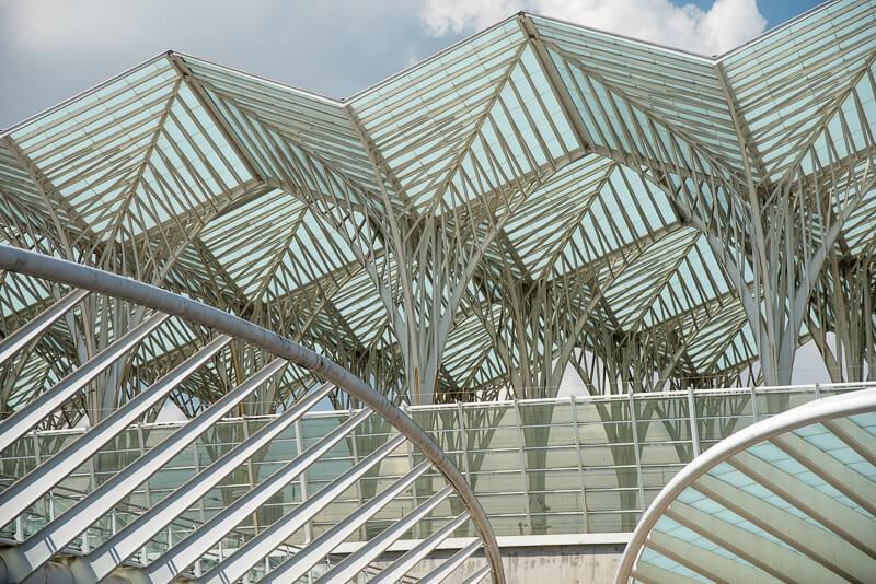 Lisbonne - Architecture moderne au parc des nations