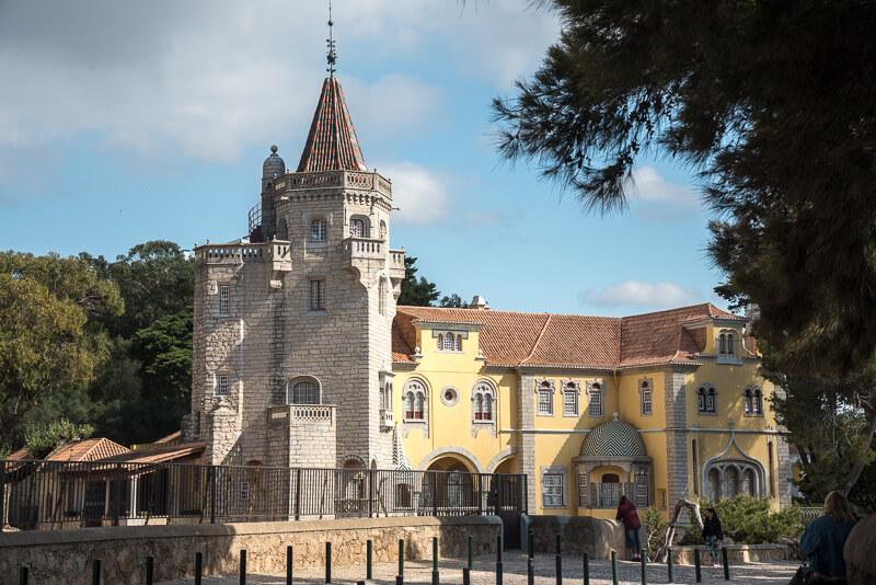 Lisbonne - le château de Cascais