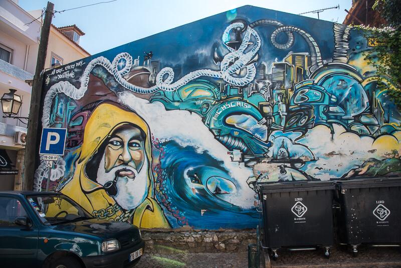 Lisbonne - Cascais, ville de pécheurs et street art