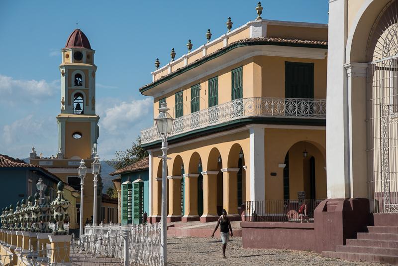 Cuba-Trinidad, la Plaza Mayor