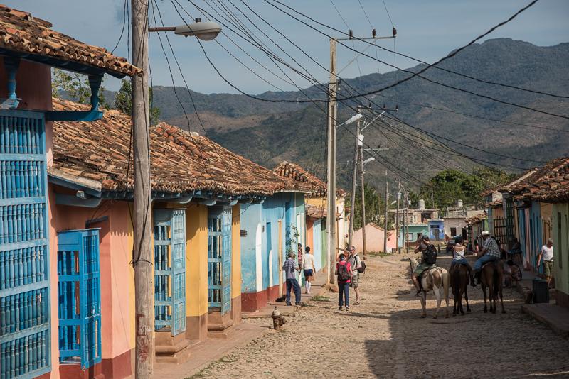 Cuba - rue de Trinidad