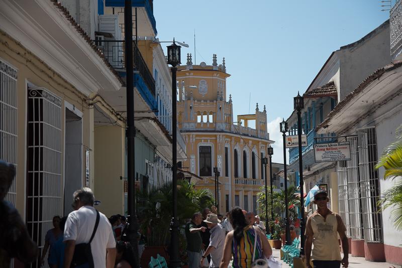 Cuba - Sancti Spiritus, architecture coloniale