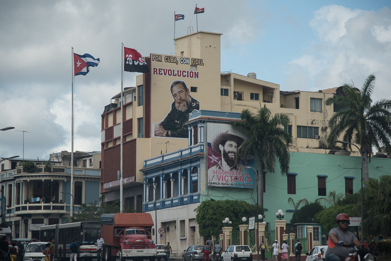 Cuba - Santiago, une des rues principales