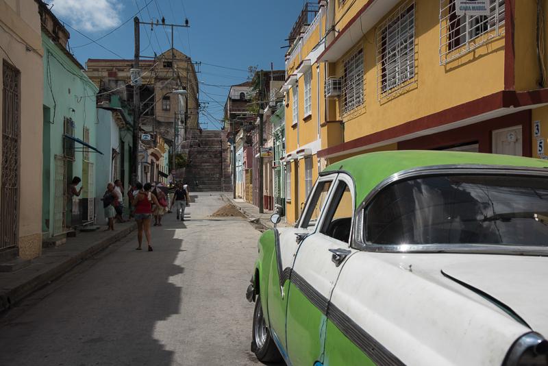 Cuba - Santiago - escalier du père Pico