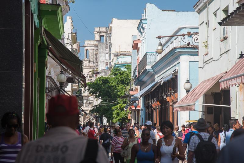 Cuba - rue de La Havane