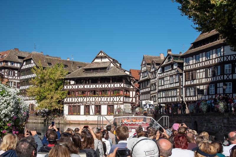 Alsace - Strasbourg, balade en bateau dans la petite France