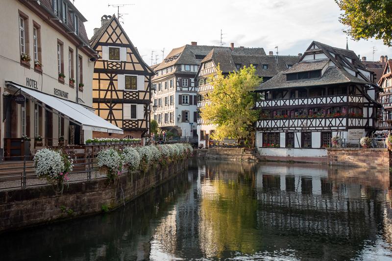 Alsace - la petite France à Strasbourg