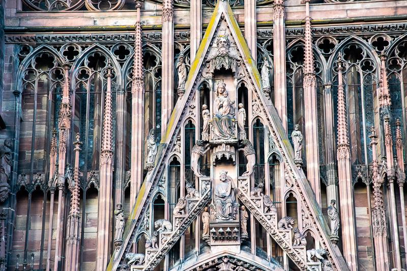Alsace -cathédrale de Strasbourg
