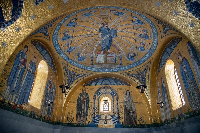 Alsace - Chapelle des larmes du Mont Sainte-Odile
