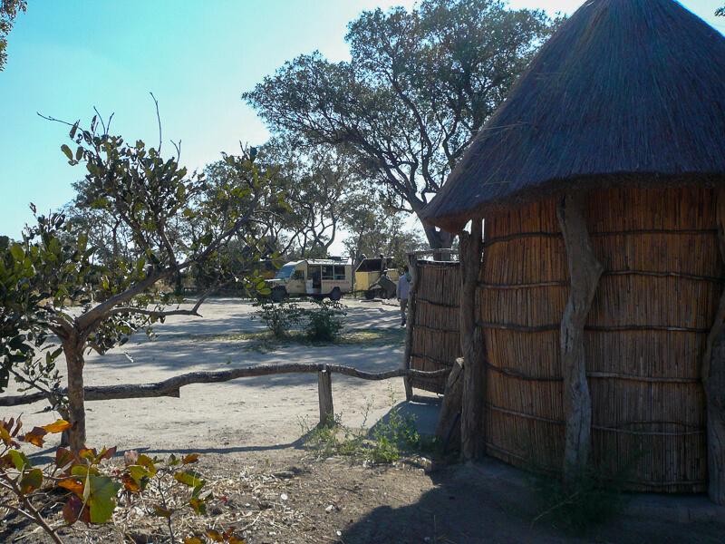Afrique australe - Botswana, Moremi - clairière aménagée