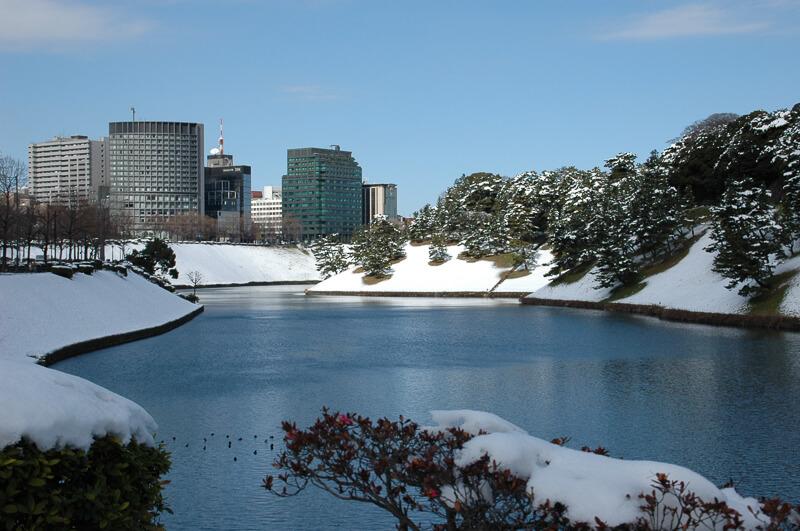 Japon,Tokyo - Tokyo sous la neige