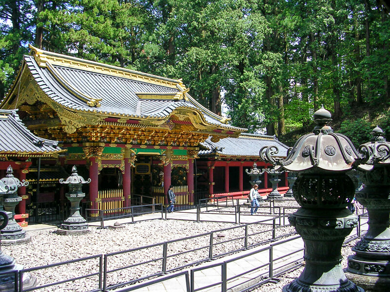 Japon, Nikko - Temple Taiyuin-byo
