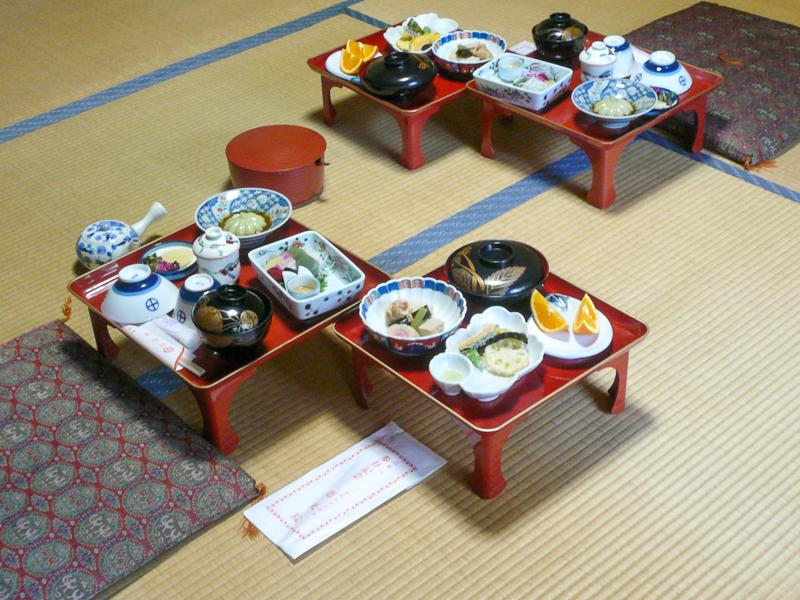 Japon, Mont Koya - repas végétarien