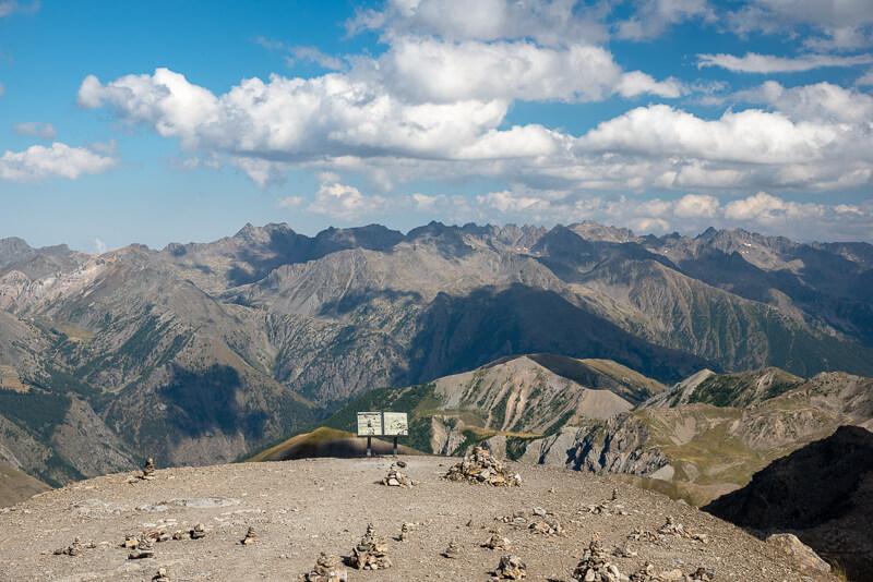 Mercantour, cime de la Bonette - Panorama à 360°