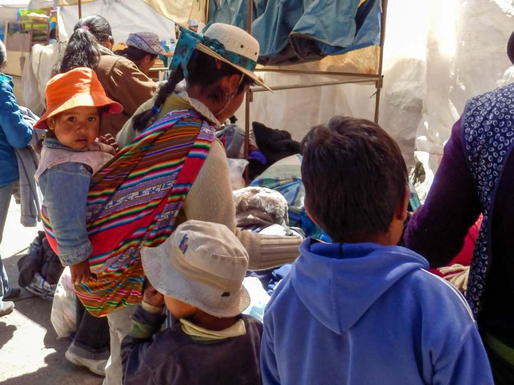Pérou, Chivay - marché du Village