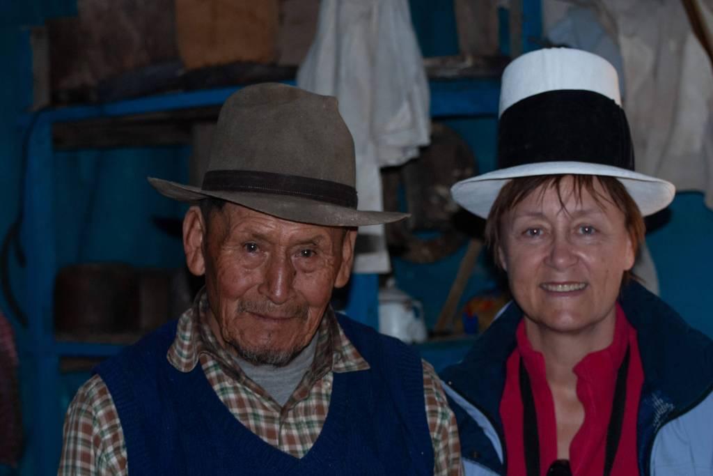 Pérou, Vallée sacrée - Maras, rencontre avec le chapelier