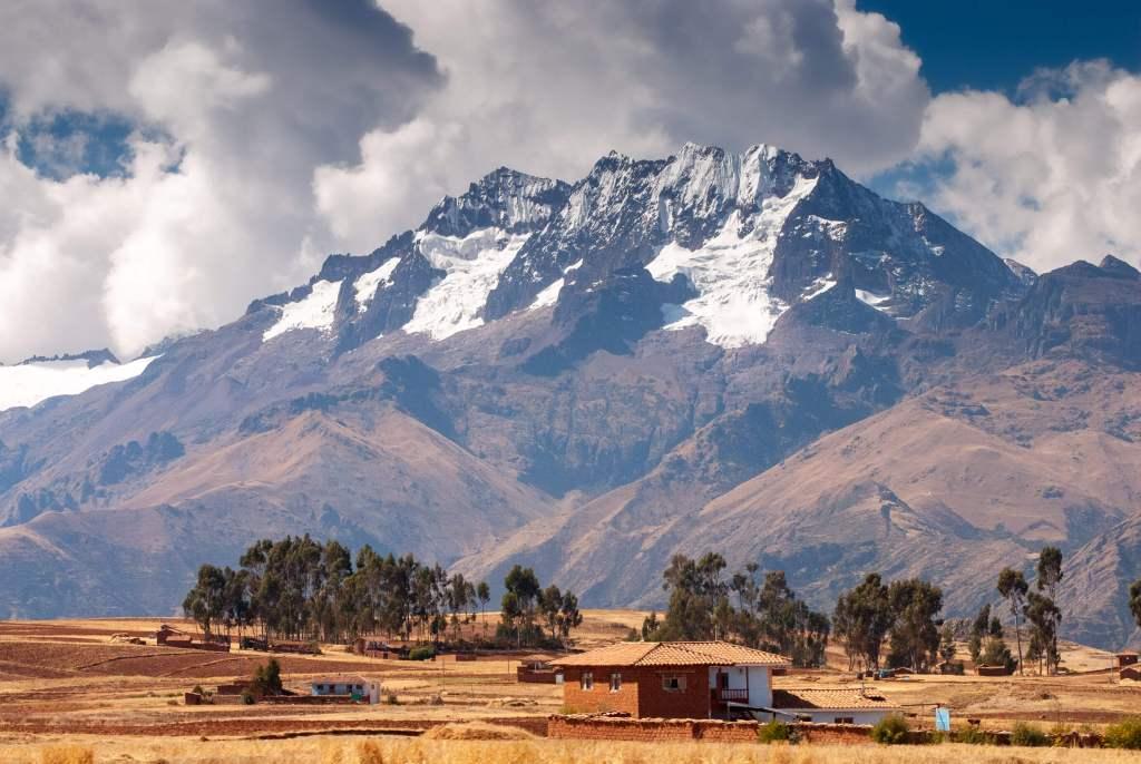 Pérou, Vallée sacrée - Chinchero, paysage