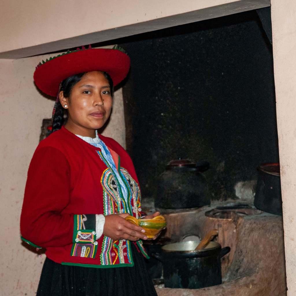 Pérou, Vallée sacrée - Chez nos hôtes à Chinchero