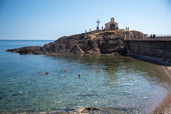 France - Ville de Collioure, chapelle Saint-Vincent