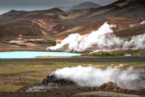 Islande, le centre