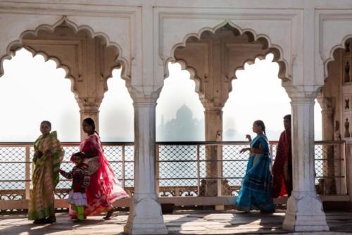 Inde, Rajasthan, Fatehpur Sikri et Agra