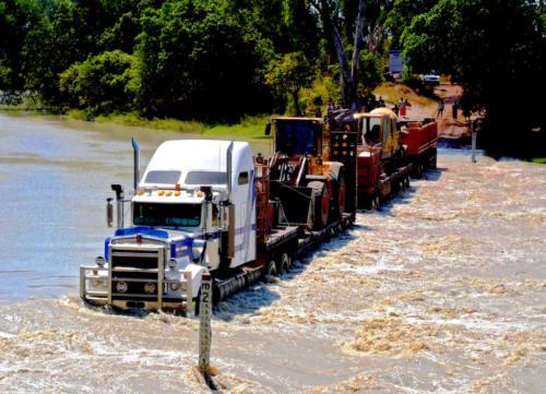 Australie - Transports et gué