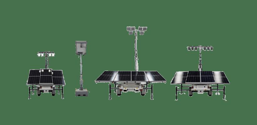 solar lighting towers globe power