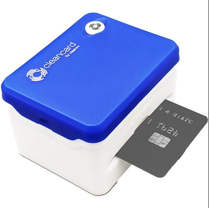 Cleancard Refillable Card Sanitizer